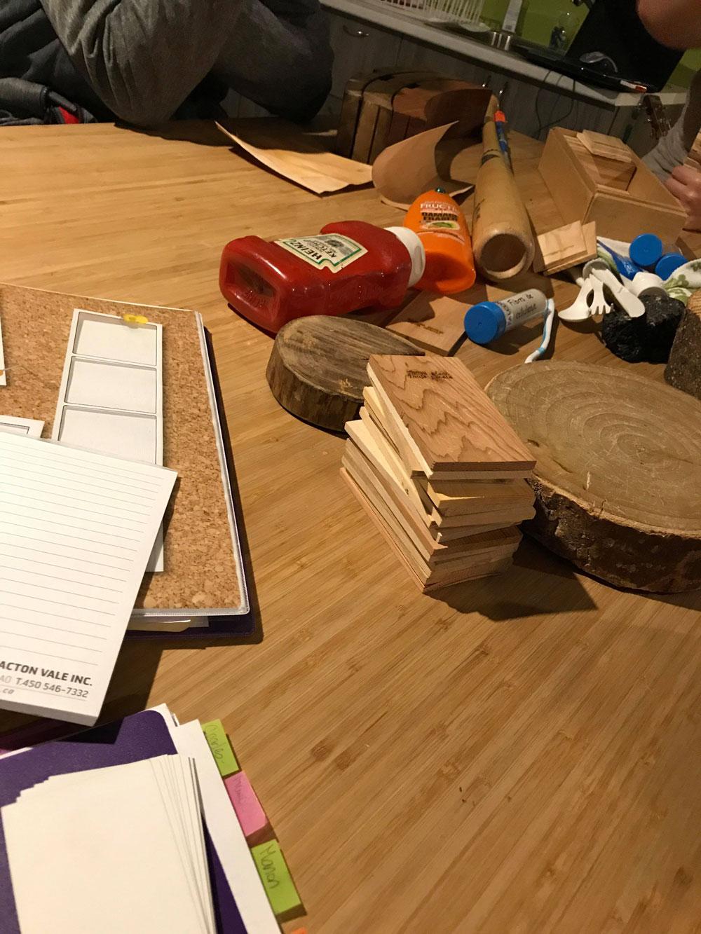 Atelier de bois