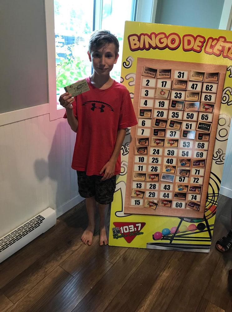 Bingo d'été 2018