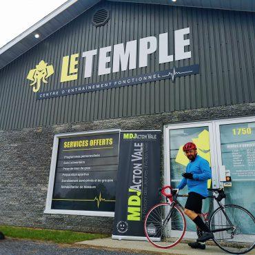 Go Fund Me pour la MDJ avec Sébastien Marois et Le Temple
