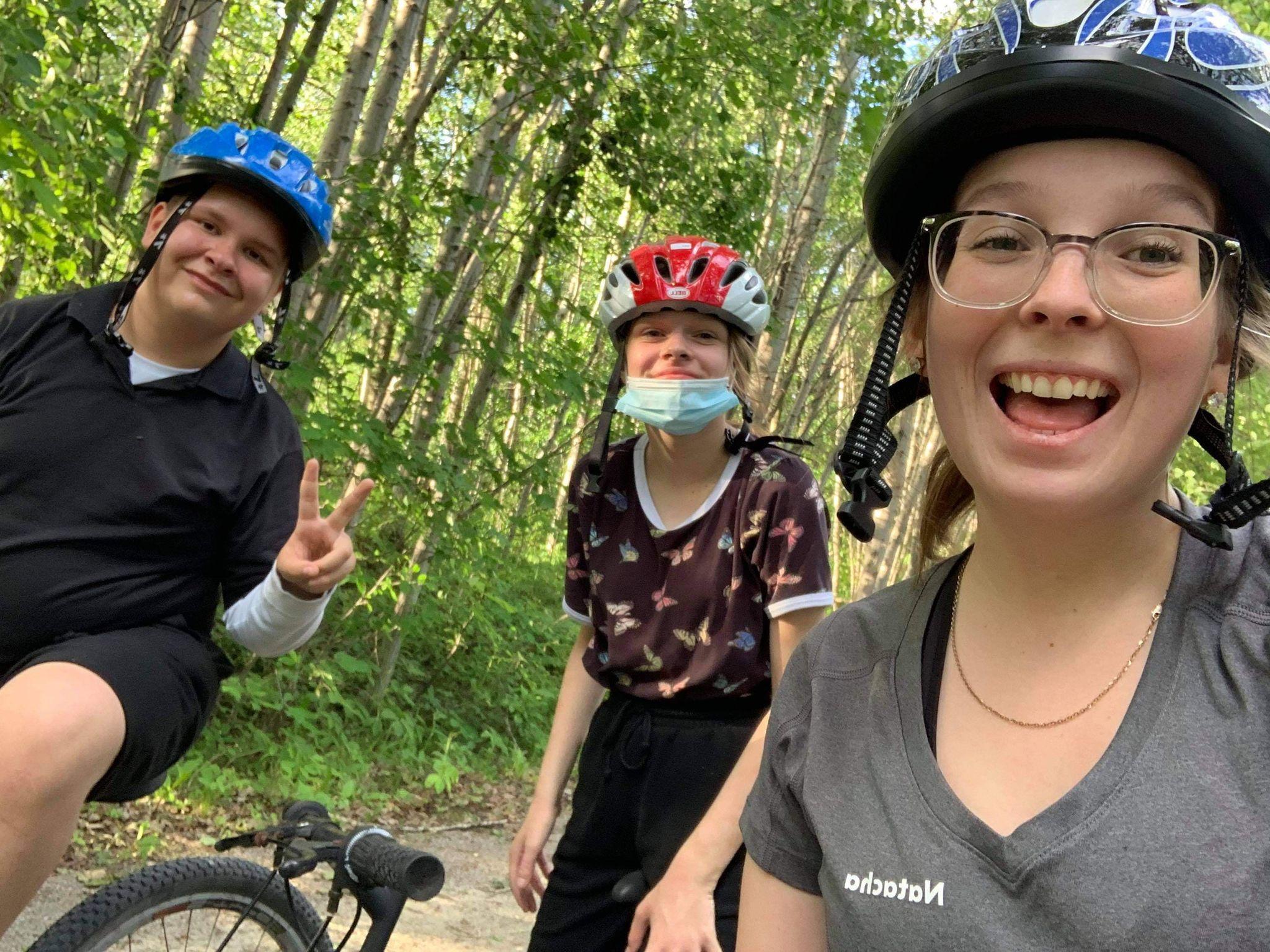 1er juin: première journée du défi vélo